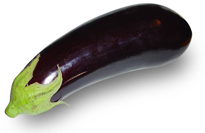 Larga Negra Aubergine 20 seeds