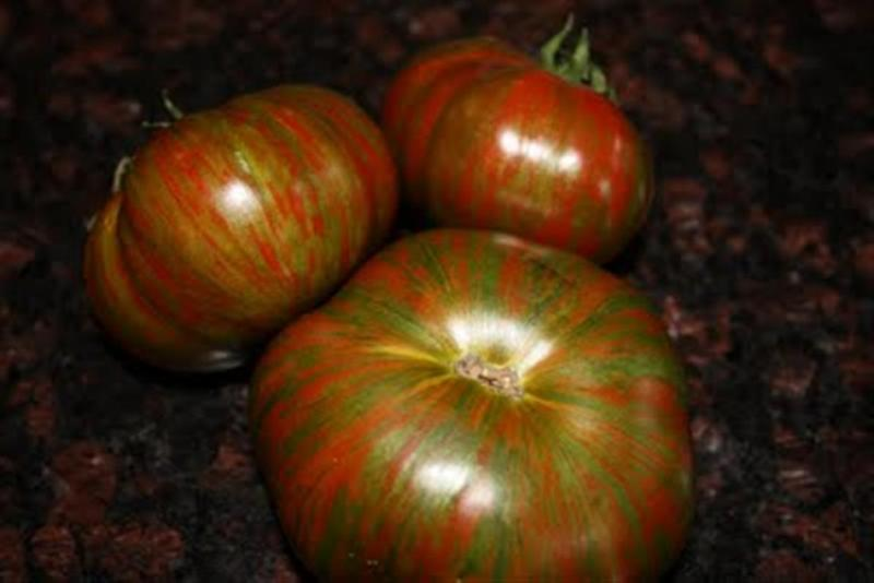 CHOCOLATE STRIPES Beefsteak tomato 20 seeds